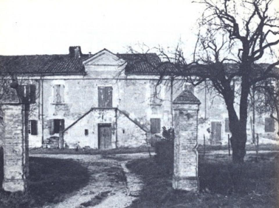 Palazzo Spinelli, San Vitale di Reno, oggi non più esistente