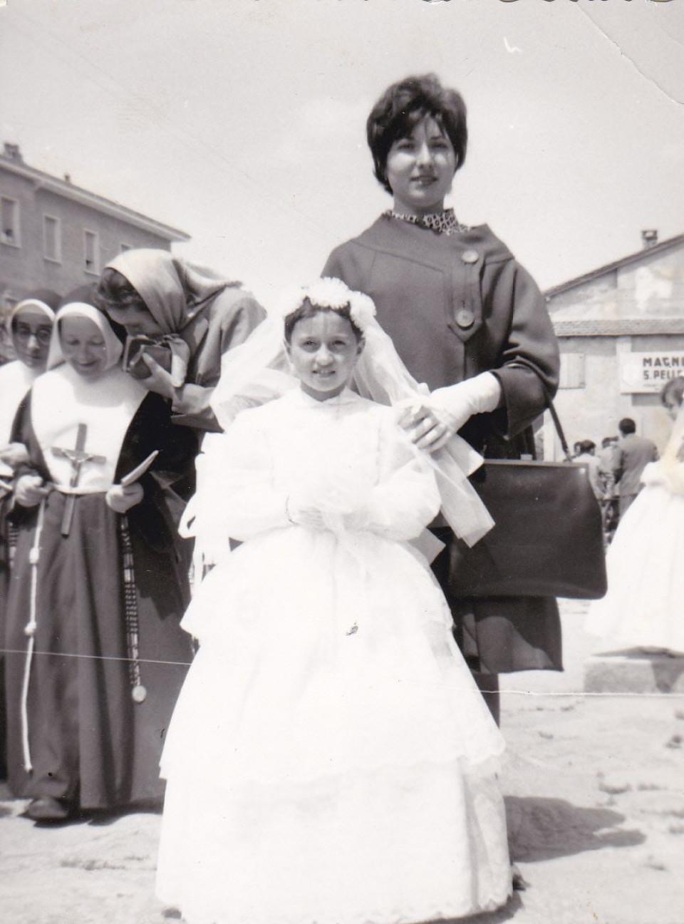 Calderara, maggio 1961, la prima Comunione