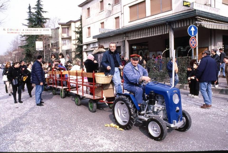 Carnevale a Calderara, anno 2000