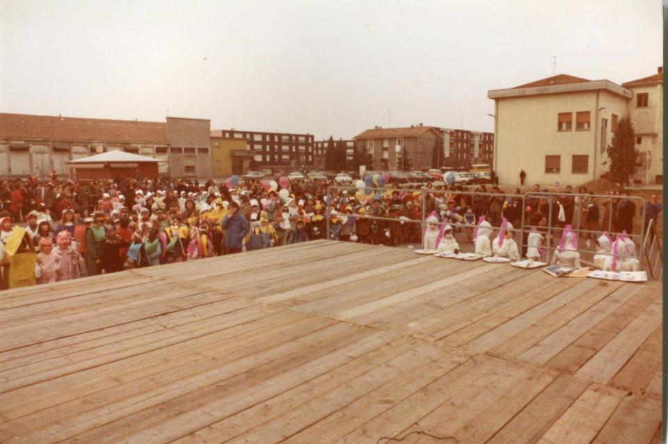 Carnevale a Calderara, anni '80