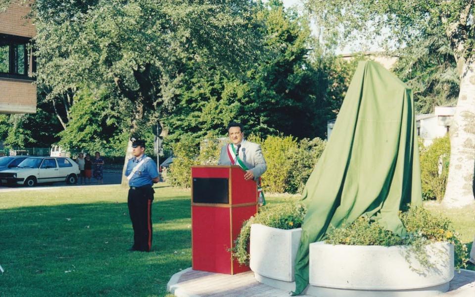 Lippo, inaugurazione del parco, 2001