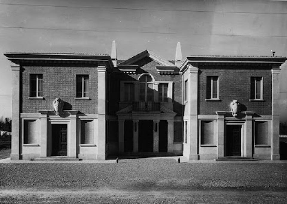 La Casa del fascio di Calderara di Reno, oggi teatro comunale Spazio Reno
