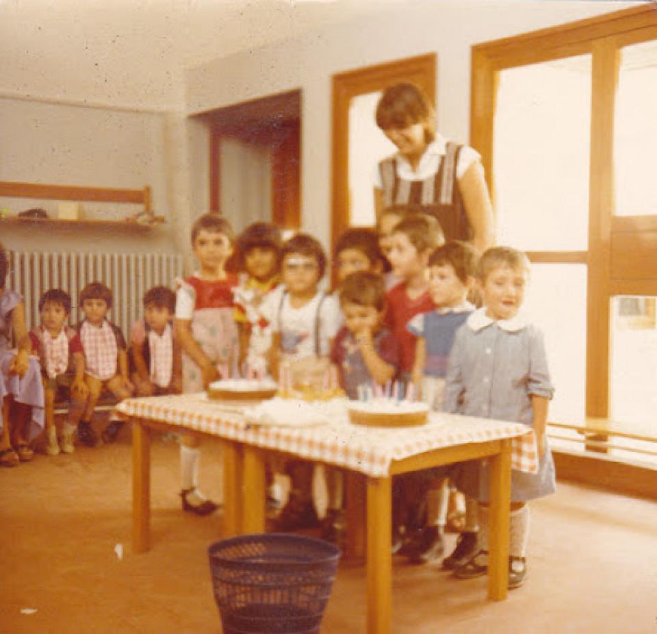 Scuola materna comunale di Calderara, 1979