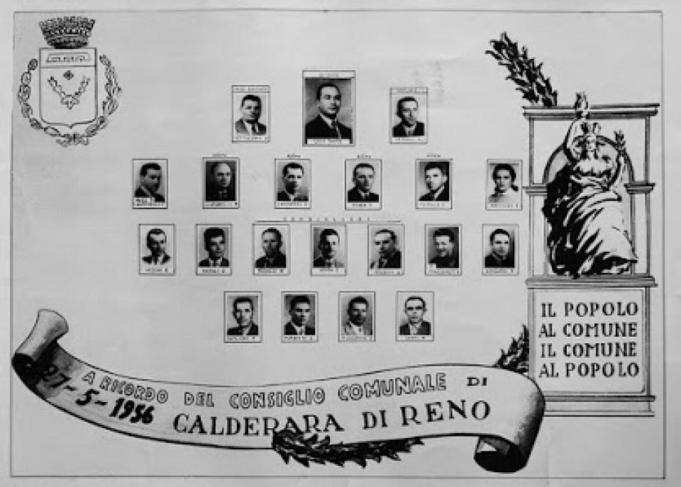 Consiglio Comunale di Calderara di Reno, 1956