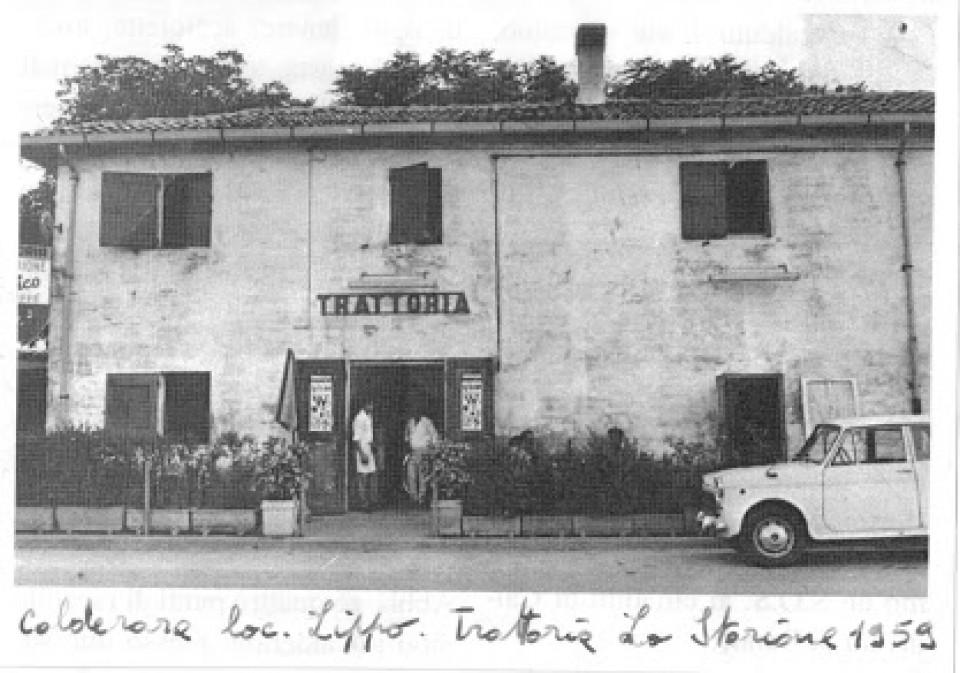 La trattoria dello Storione, Lippo 1959
