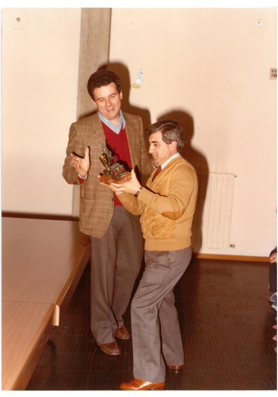 Incontro con la sezione UP Pattinaggio, 1983