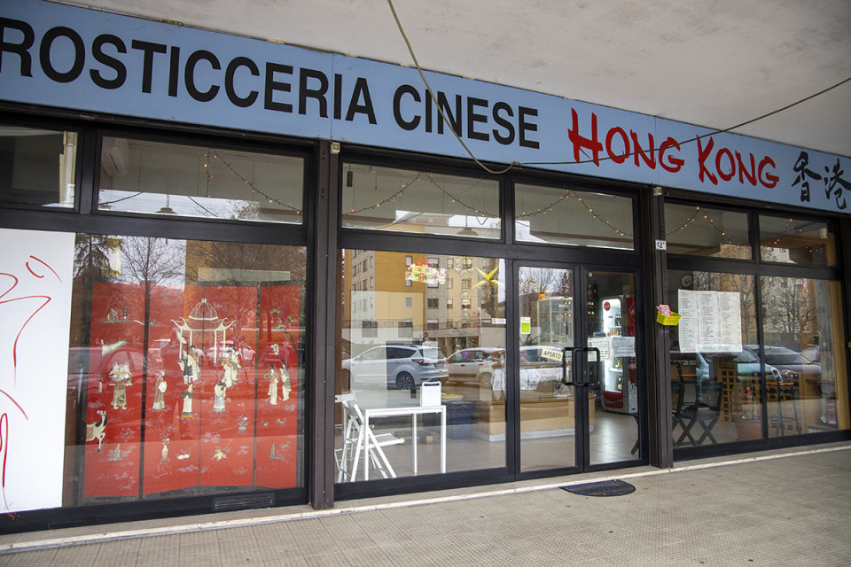 Rosticceria cinese Hong Kong, Calderara