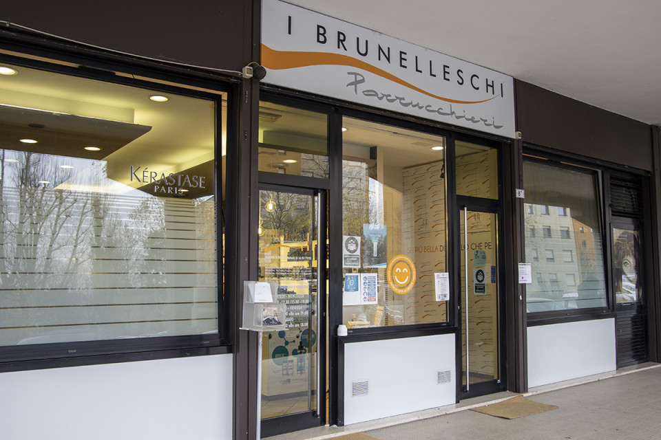 Brunelleschi Parrucchieri, Calderara