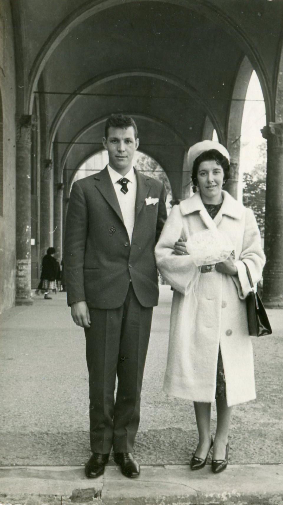Matrimonio di Marta Nanetti e Nereo Marcanti, 1959