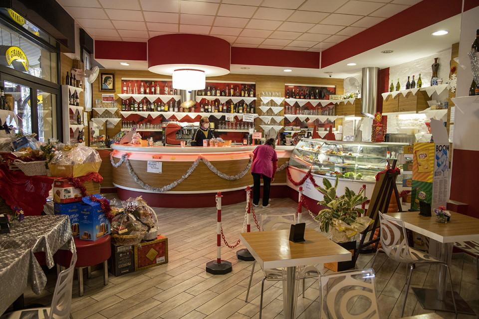 Bar Girasole, Calderara