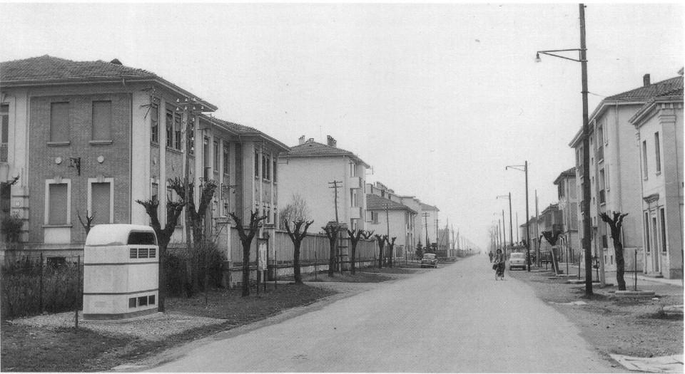 Via Roma, Calderara, anni '60