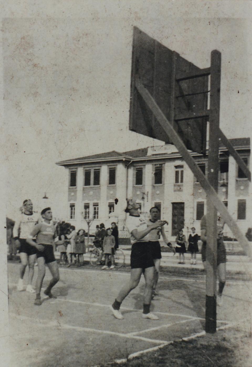 Partita di Basket,  30 agosto 1941