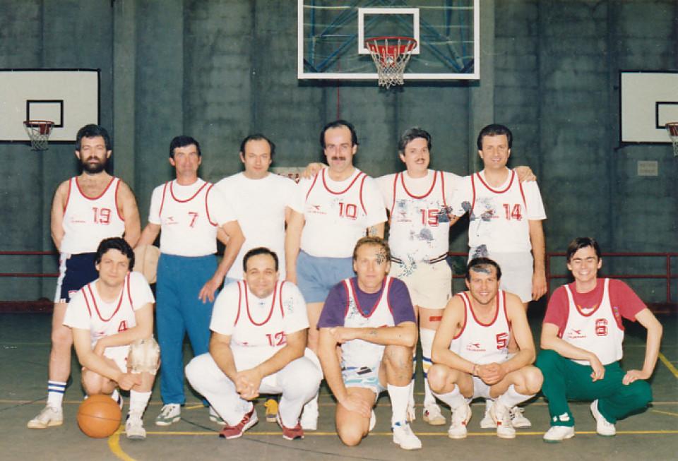 Basket Calderara, anni '80