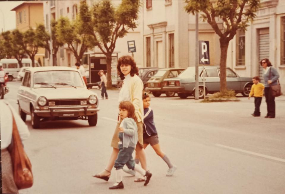 Calderara, via Roma, inizio anni '80