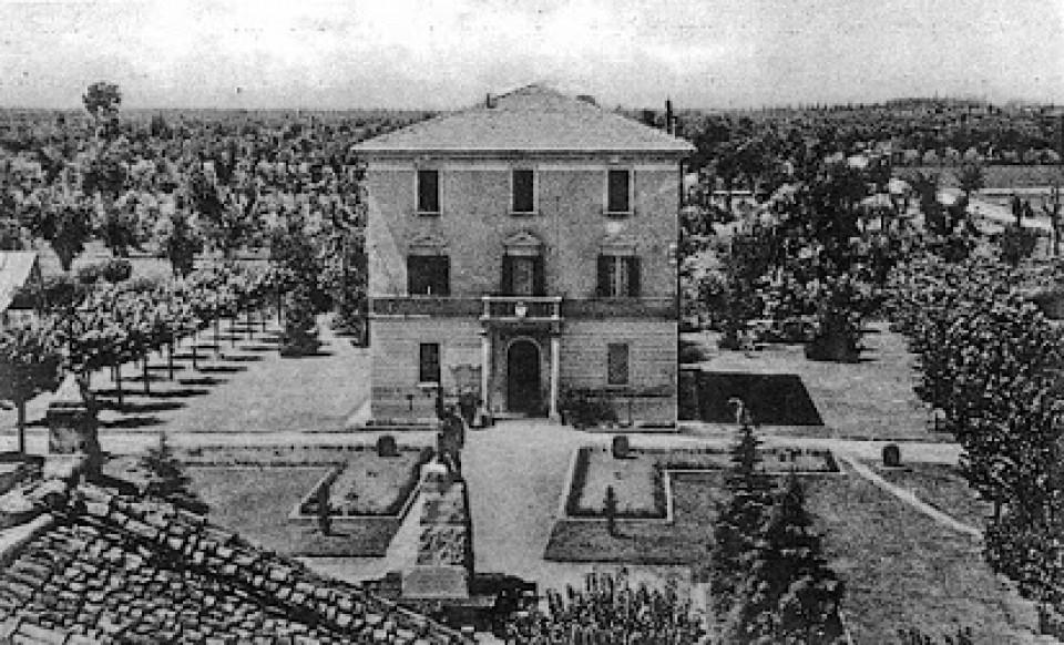 Piazza Marconi, Calderara, anni '50