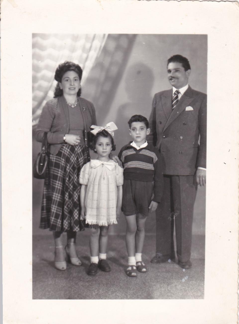 Gristina e la sua famiglia