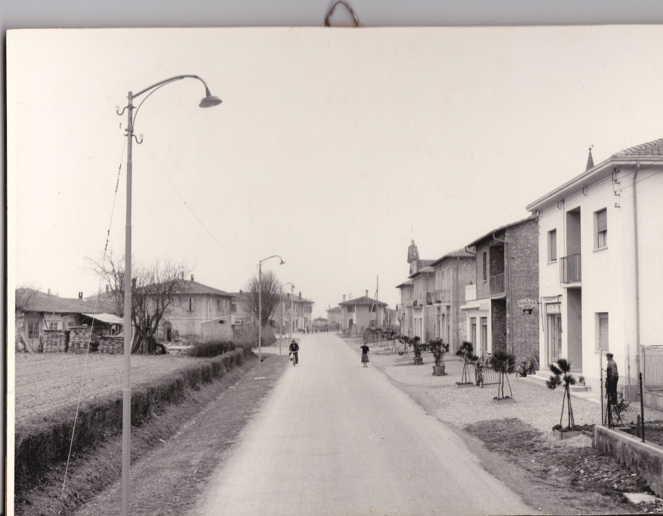 Longara, via Longarola, anni '50