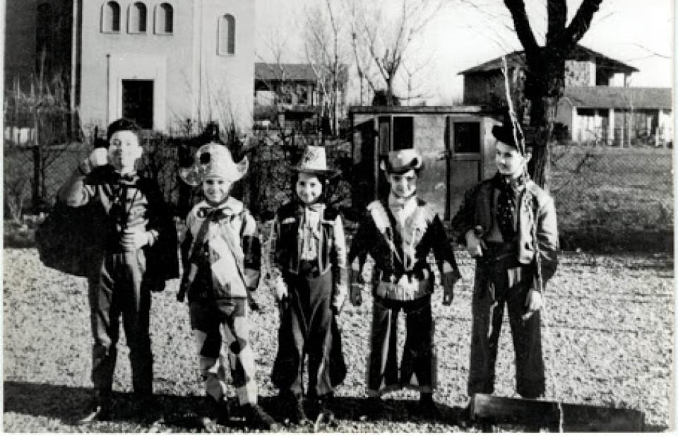 Carnevale a Calderara, 1966