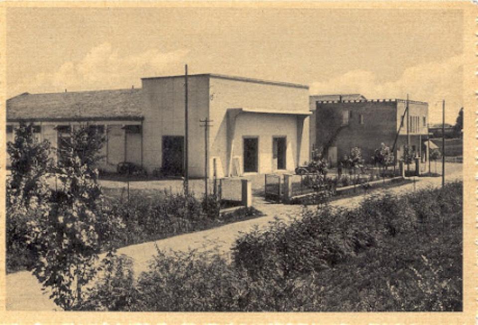 Il Consorzio Agrario di Calderara, anni '60.