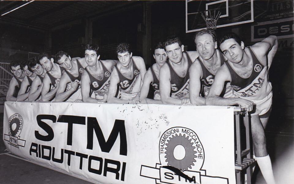 Basket Calderara, 'anni 80