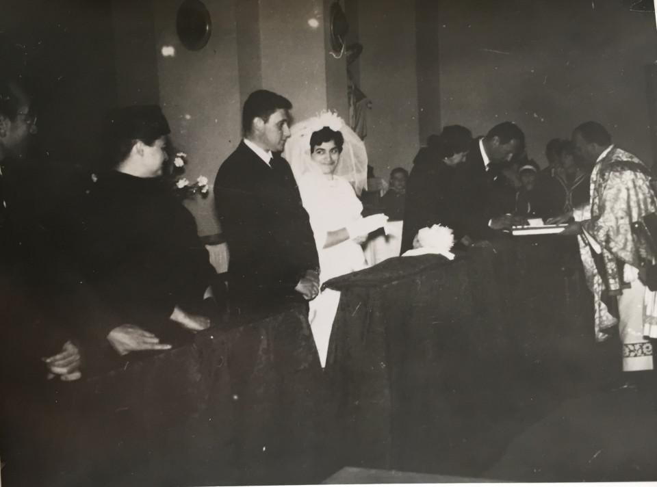 Matrimonio- inizio anni '60