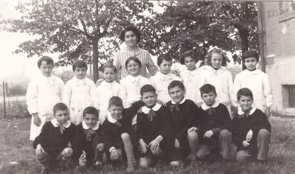Anno scolastico 1960/61 Scuola elementare di Sacerno