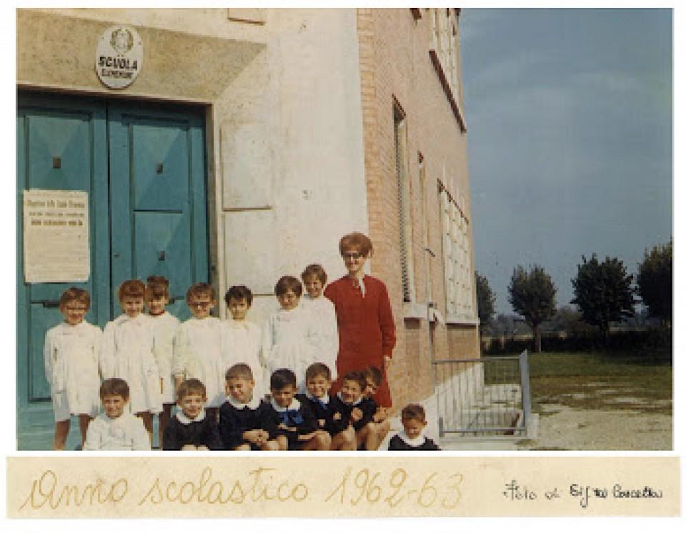 Scuola elementare San Vitale, 1962-63