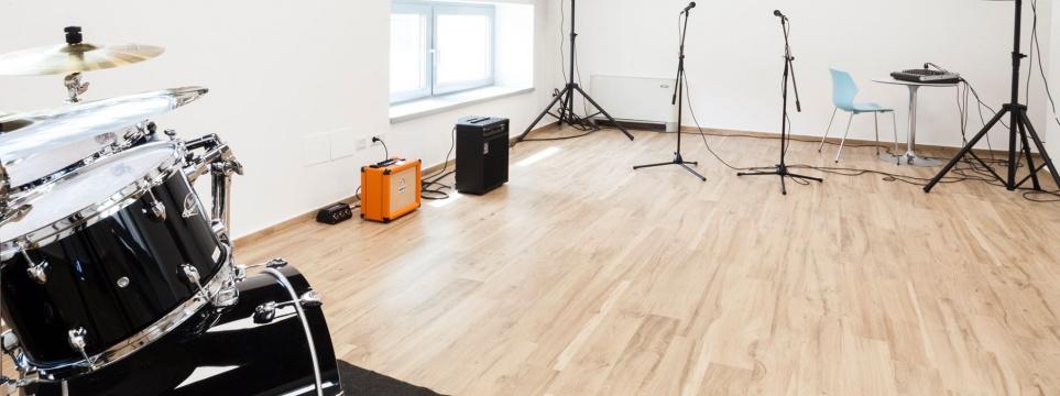 sala prove musica
