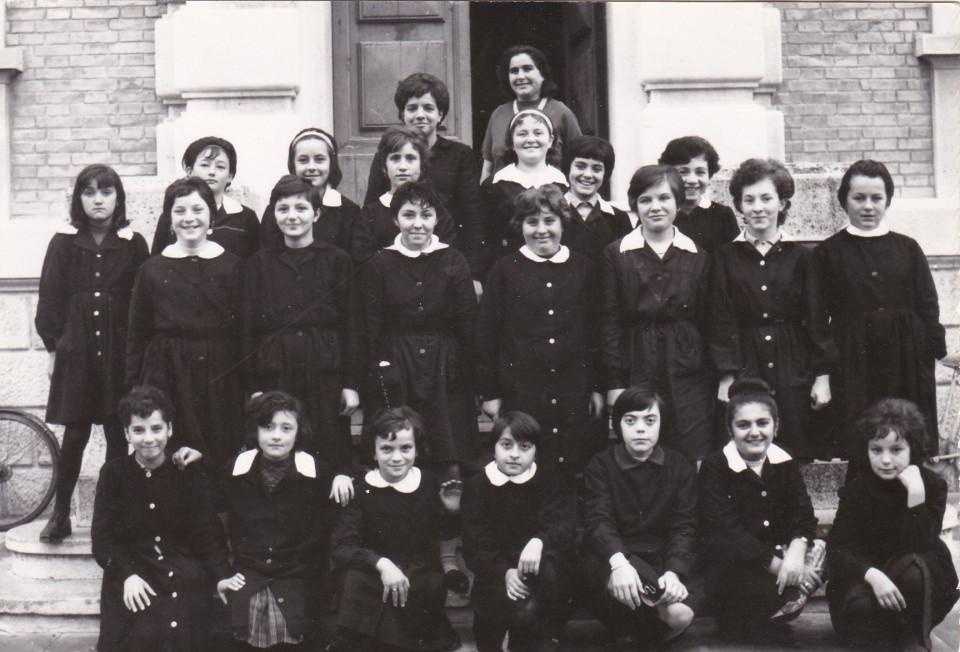 Anno scolastico 1963/64 Classe I media