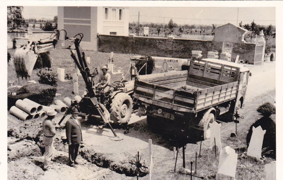 Calderara, lavori di ampliamento del cimitero