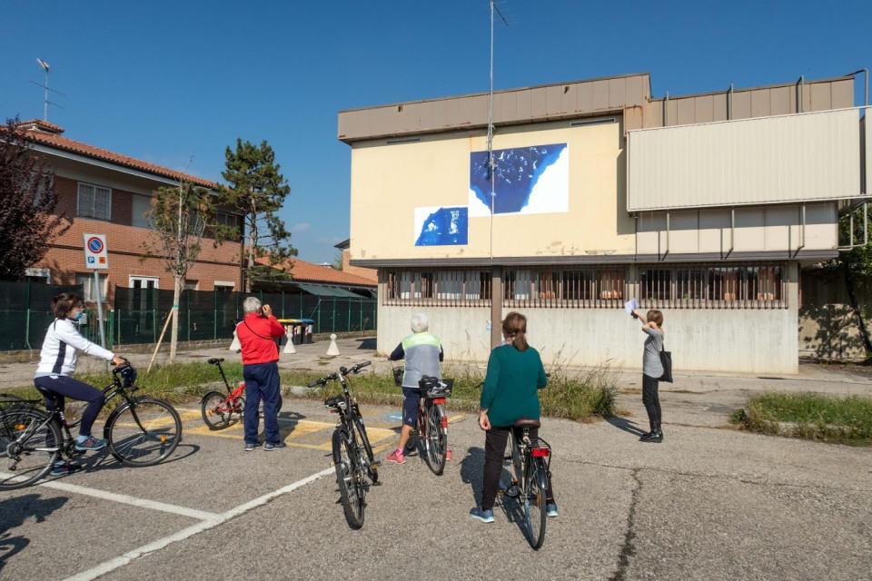 Visita guidata in bicicletta alle opere, 18 ottobre 2020