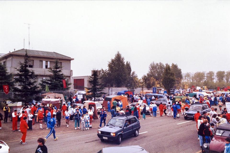 Camminata della Stiassi,1987