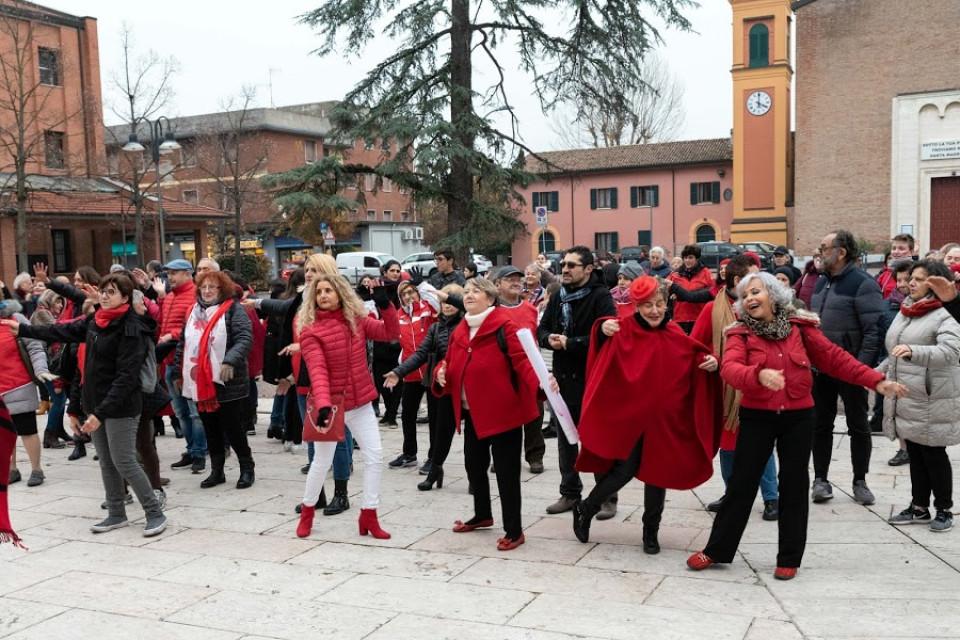 Flash mob per dire NO alla violenza sulle donne, novembre 2019
