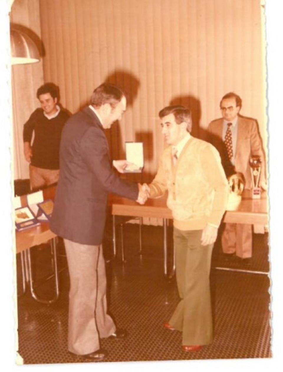 Rodolfo Girotti, Presidente dell'UP dal 1978 al 1983