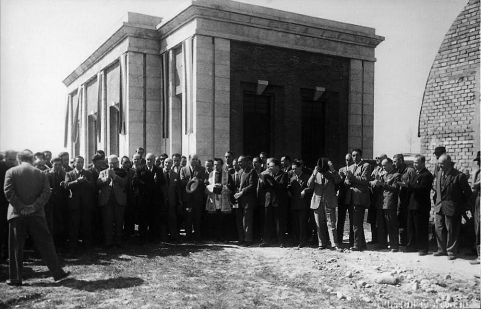 Inaugurazione Acquedotto Renano, 1949