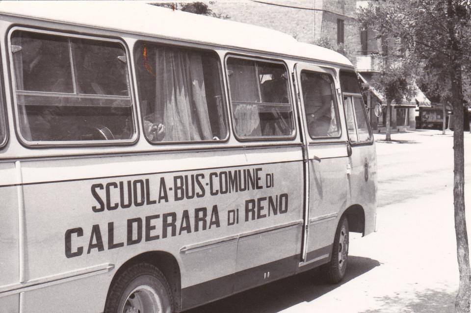 Lo scuola bus di Calderara