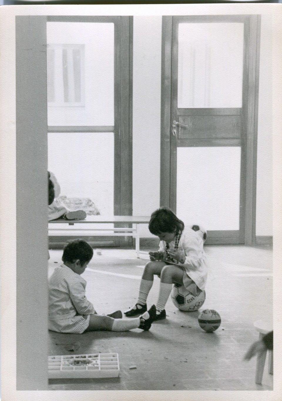 Scuola dell'infanzia comunale Arcobaleno, anni '70