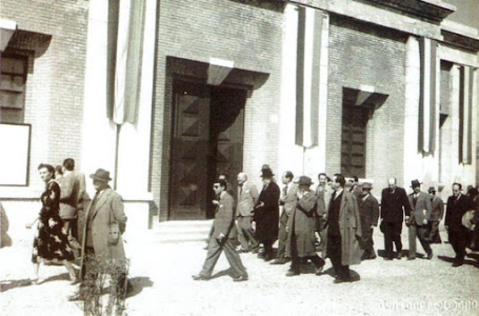 L'Acquedotto renano. Inaugurazione, 1949