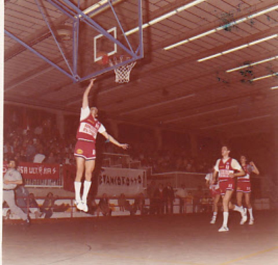 Basket Calderara, 1985