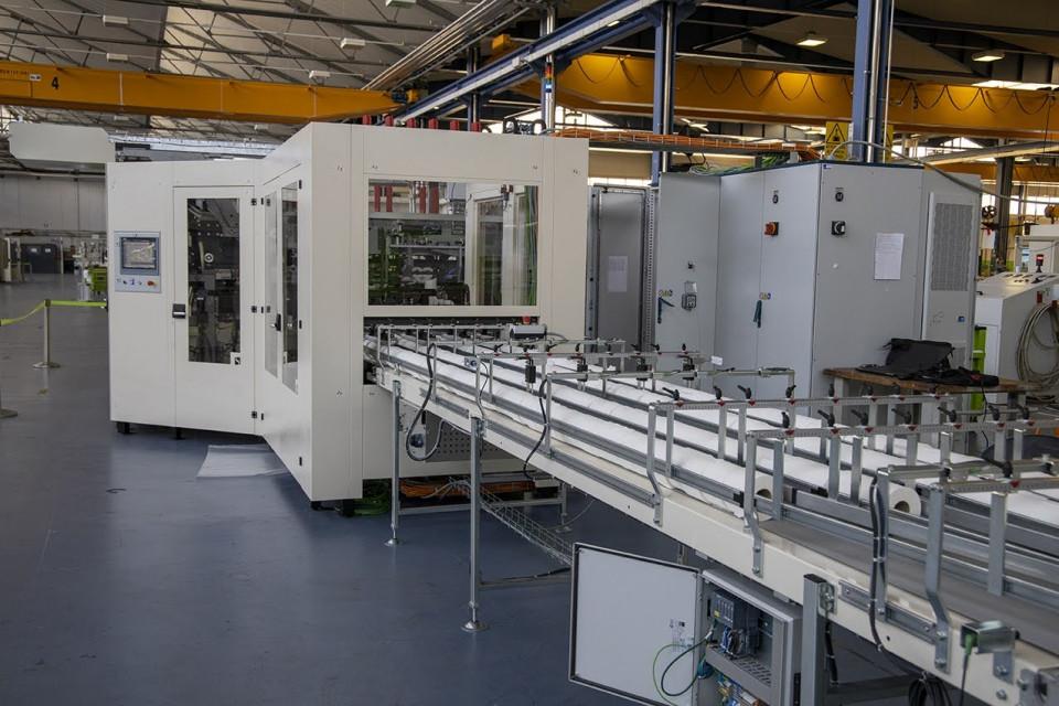 Fabio Perini Packaging Plant, Lippo