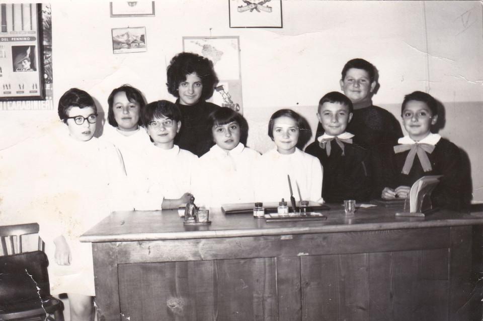 Anno scolastico 1962/63 Scuola elementare di Sacerno