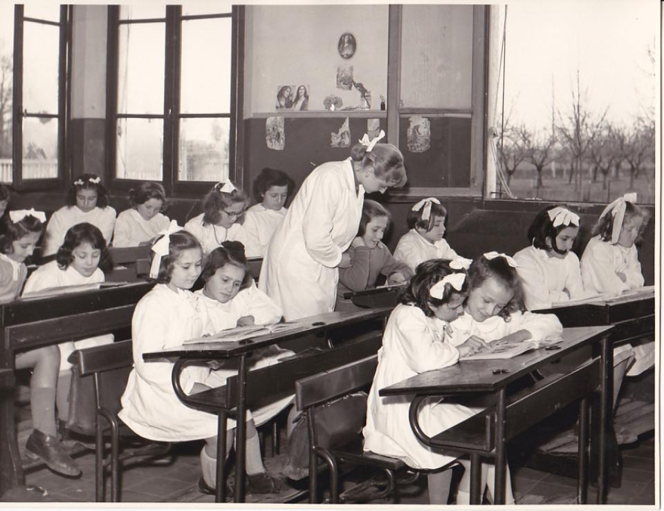 Scuola elementare San Vitale, 1953