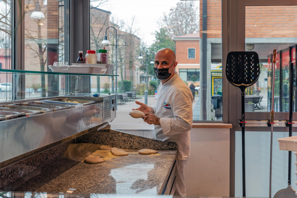Pizzeria Mirò, Calderara