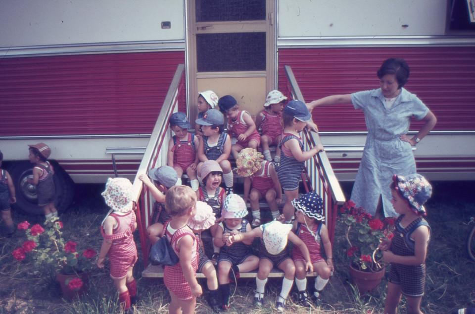 Nido Peter Pan, visita al circo a Lippo, 1978