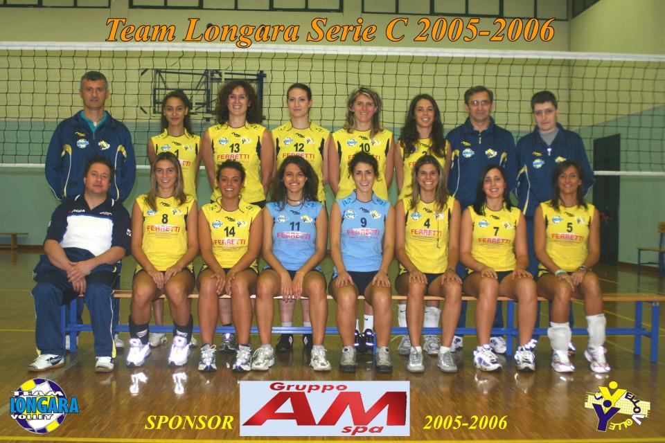 Pallavolo, Team Longara 2005