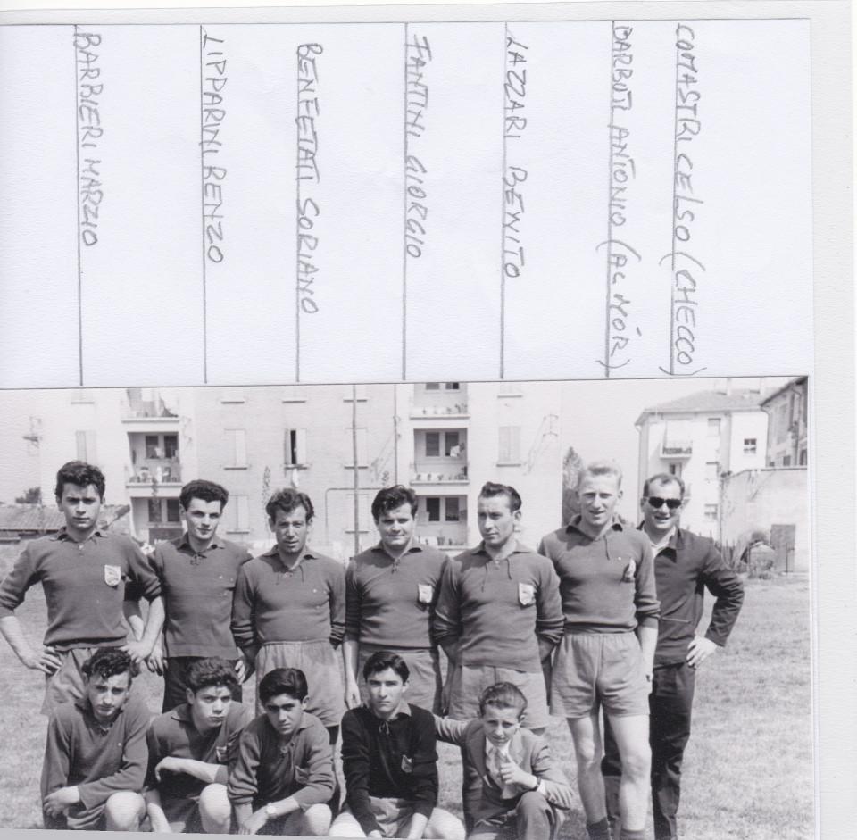 Calcio, anni '50