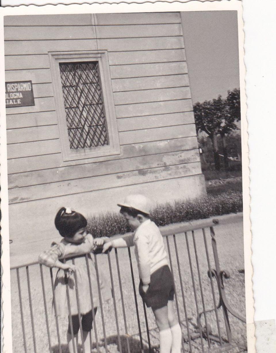 Piazza Marconi, Calderara, 1961