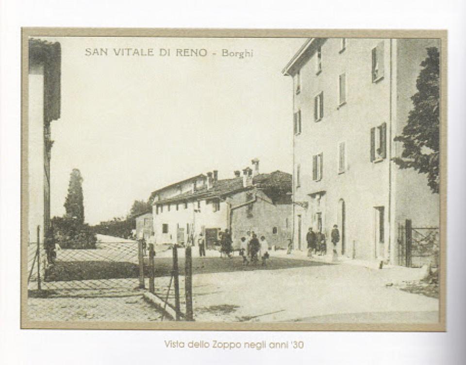 Borgata lo Zoppo - San Vitale di Reno - anni '30