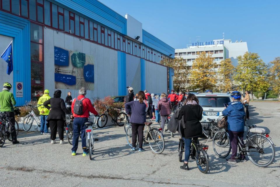 Visita guidata alle opere in bicicletta, 18 ottobre 2020