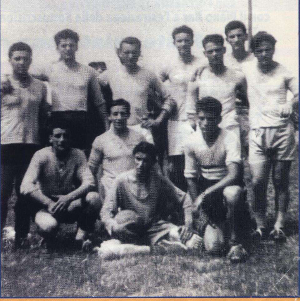 """Torneo di calcio - Campionato Provinciale Ragazzi """"Verso la vita"""", 1950"""